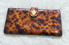 GUCCI woman's wallet leather vintage circa: 1990 color: animal print