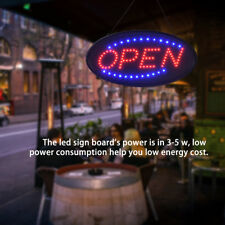New Bright Animated Motion Running Neon Led Business Store Shop Open Sign Chain