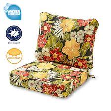 polyester multi color patio furniture cushion sets for sale ebay rh ebay com