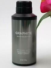 Bath and Body Works GRAPHITE Men's Deodorizing Body Spray 3.7 oz / 104 g *NEW*