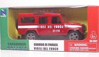 """New Ray 19863 IVECO Massif """"Vigili del Fuoco"""" - METAL 1:43"""