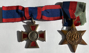 Royal Red Cross Medal with Miniature and WW1 Star in Presentation Boxes - RARE!