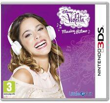 Violetta: Musica e Ritmo    NINTENDO 3DS nuovo!!!