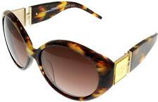 Gianfranco Ferre Sunglasses Women Gold Brown Swarovski Oval GF887 02
