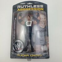 WWE WWF Wrestling Jakks Ruthless Aggression Series 28 SUPER CRAZY Figure (MOC)
