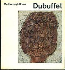 Dubuffet. Catalogo di mostra, Galleria Marlborough, Roma 1963