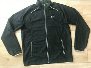 Mens Black UNDER ARMOUR STORM Running JACKET (XL) *GREAT COND*