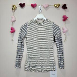 Smartwool womens Base Layer merino wool crew Neck Long-sleeve top size M Medium