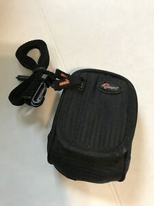 Lowepro BLACK Compact Digital Camera Universal Bag Pouch Case