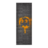 Pac-Man Clyde (Orange) Wall Tapestry