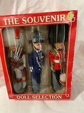 THE ROYAL PARADE -BRITISH ROYAL GUARD SOUVENIR DOLL COLLECTION NIB