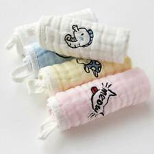 Baby Newborn Gauze Soft Square Cotton Bath Wash Handkerchief Saliva Towel CO