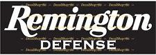 Remington Defense Firearms - Hunting/Outdoor - Vinyl Die-Cut Peel N' Stick Decal