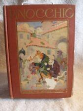 VERY RARE THE ADVENTURES OF PINOCCHIO C Collodi Illustrated BOOK John C. Winston