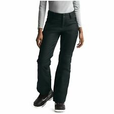 Womens The North Face Sally Insulated Ski Snowboard Pants XS Black NF0A2TKG