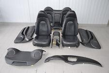 Maserati 4200 Leder Sitze Innenausstattung Lederausstattung Schwarz Seats Seat