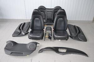 Maserati 4200 Leather Seats Interior Leather Trim Black Seats Seat