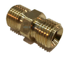 "1/4"" NPSM BRASS UNION FITTING CONNECTOR FUEL/AIR/WATER/OIL/GAS/WOG"