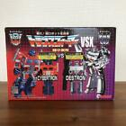Transformers World\'s Smallest VSX 2\'\' OPTIMUS & MEGATRON  figure from japan dhl