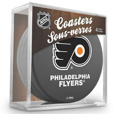 Official National Hockey League Licensed Philadelphia Flyers Coaster Set