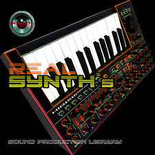 SYNTH`s REAL - HUGE Perfect 24bit WAVE Multi-Layer Samples Library 4.3GB on DVD