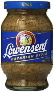 Lowensenf Sweet Mustard From Germany- BUY 2
