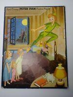 Walt Disney Productions Peter Pan Whitman Tray Picture Puzzle #2601 Vintage 1952