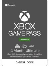 Xbox Game Pass Ultimate 1 Month Membership Code Fast Delivery New Accounts