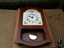 Pendulum Wall Clock In Wooden Case brand new boxed.