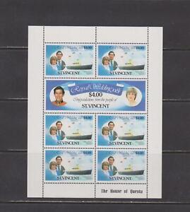 St Vincent -  Lot 2889, Mint, NH. 3 Sheetlets.