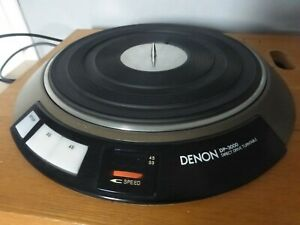 DENON Audiophile DP 3000 D/D servo controlled Transcription deck & DK 100 plinth