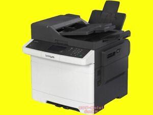 Lexmark CX 410de, CX-410de, ca. 14.750 Seiten gedruckt, gebraucht/ CA1