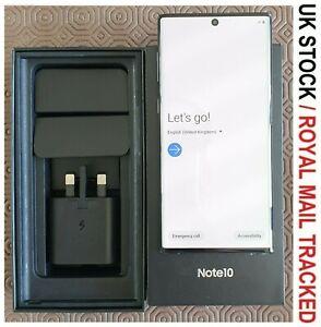 Samsung Galaxy Note10 SM-N970F/DS - 256GB - Aura Black (Unlocked) SIM FREE