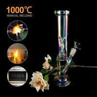 33cm Smoking Pipe Shisha Tobacco Glass Luminous Hookah Bong Water Pipe