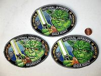 STAR WARS 2005 SCOUT Jamboree YODA Eagle MARIN COUNCIL 2017 533 JSP Patch Real!