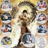 WR 8 Stück Der 45. Jahrestag der Bruce Lee Silbermünze Kung Fu Geschenke