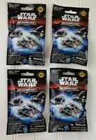 STAR WARS Micro Machines Series 2 Blind Bags Lot Of 4 NEW