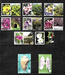 Bermuda .. Flowers & Trees .. A Stamp Collection .. Great Value .. 4098
