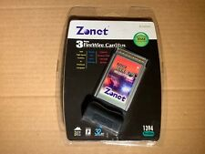 Zonet Zun2300 3 Port Leee 1394 Firewire Pcmcia Cardbus 32 Bit Pc Card - New