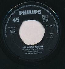 "JOHNNY HALLYDAY 45 TOURS 7"" HOLLANDE LES MAUVAIS GARCONS++++"