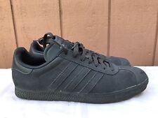 Adidas Gazelle Men's Gray Suede Sneakers US 10 EUR 44 EXCELLENT