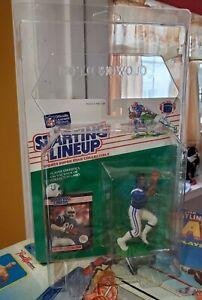 STARTING LINEUP 1989 FOOTBALL BILL BROOKS Colts SLU MoC Beauty  Zoloworld Case