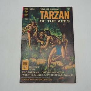 Tarzan of The Apes #173 Edgar Rice Burroughs Gold Key Comics 1967 Vtg