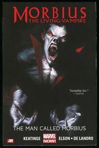 Morbius The Living Vampire The Man Called Morbius Trade Paperback TPB Spider-Man