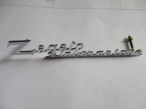 Lancia Alfa Aston Ferrari Bristol Abarth Lettering Processing Zagato