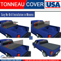 2014-2020 TOYOTA Tundra Assemble 8FT Bed Lock Soft Tri-Fold TONNEAU COVER C