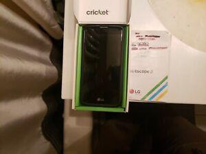 LG Escape K373 -Gold (Cricket) Smartphone