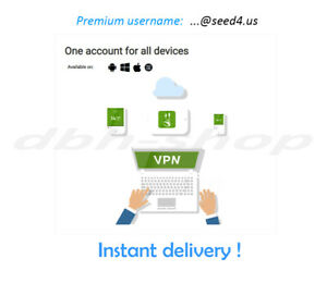 ⭐ Seed4.me VPN ⭐ 6 MONTHS 👌 UNLIMITED DATA/DEVICES ✅ INSTANT DELIVERY 🎯