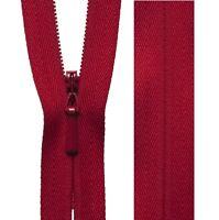 20cm23cm41cm56cm Mid Pink YKK Concealed Zip Invisible Zip Closed End