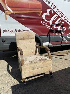 Antique 1940's Rocker Chair